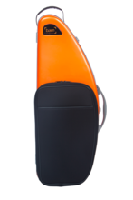 BAM DEF4102XLPO La Défense Hightech Tenor Sax Case with Pocket, Orange
