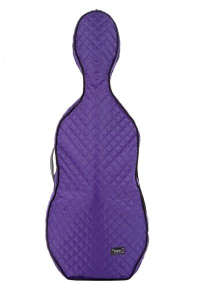 BAM HO1000XLVT Hoodie for Hightech Cello Case, violet .