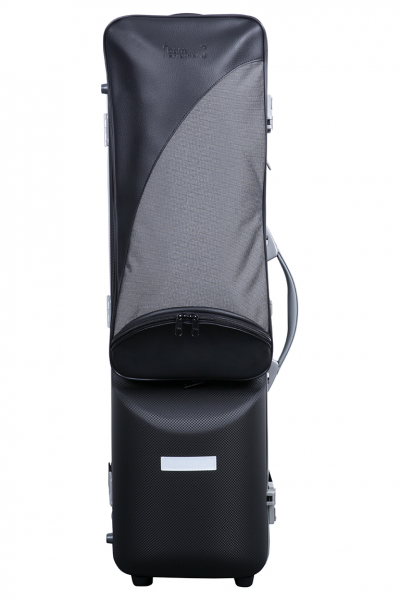 BAM PANT3026XLN Panther Hightech Bass Clarinet (to C) Case, Black