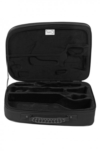 BAM TREK3027MSA New Trekking Bb Clarinet/Music Stand Case, brushed aluminium