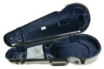 BAM 2200XLT Hightech Contoured Viola-Etui, Tweed