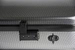 BAM 2201XLSC Hightech Kofferetui f. Viola, silber-carbon .