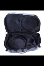 BAM 6001XLC HIGHTECH French Horn Etui, Schwarz - Carbon