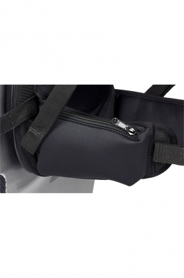 BAM 9036 Ergonomischer Rucksack für Cello Etui, Schwarz