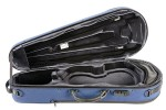 BAM SG5101SB Saint Germain Stylus Contoured Viola case, blue